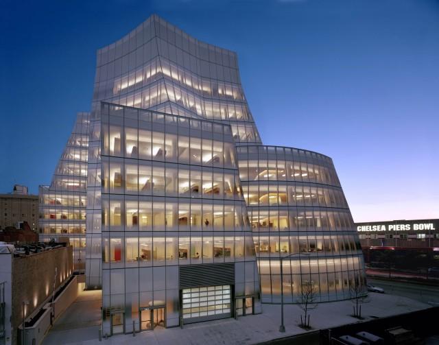 Frank Gehry Iac Building Manhattan 233 Rase Una Vez Niels H